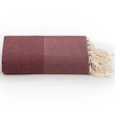 Hamamdoek-XXL-Bordeaux-rood