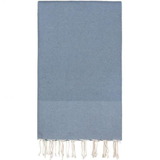 Hamamdoek XXL jeans blauw