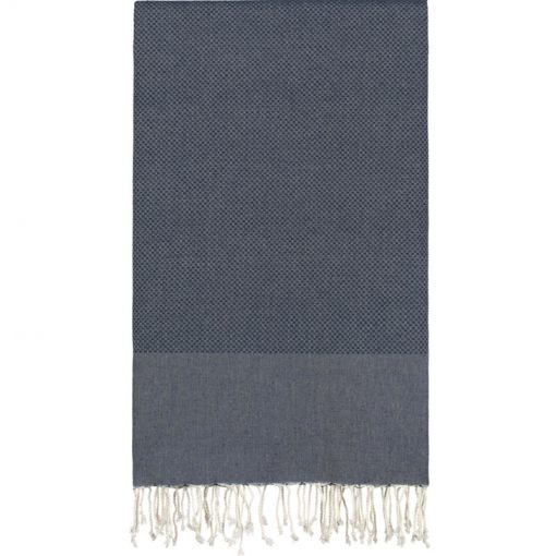 Lantara Hamamdoek XXL kleur marine blauw afmeting 195x300 cm