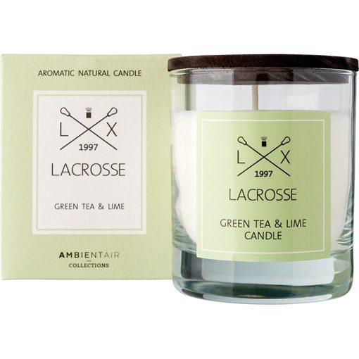Lacrosse geurkaars green tea and lime