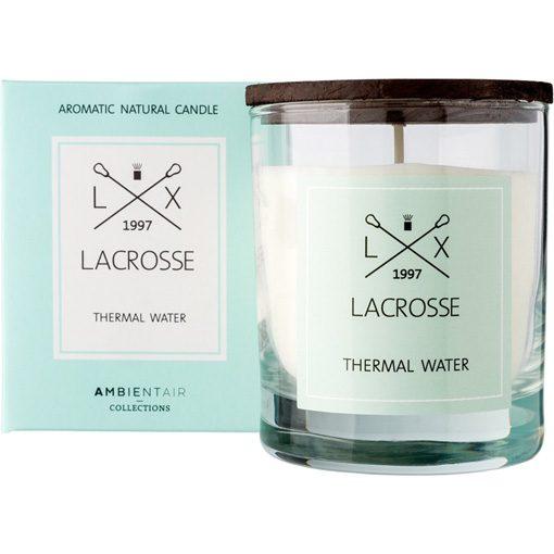 Lacrosse geurkaars thermal water