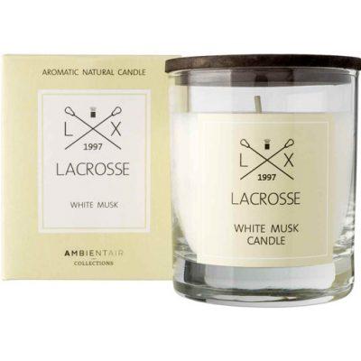 Lacrosse geurkaars white musk