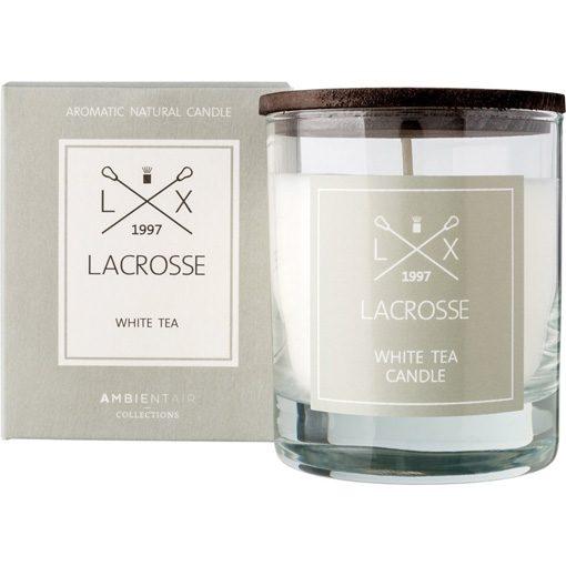 Lacrosse geurkaars white tea