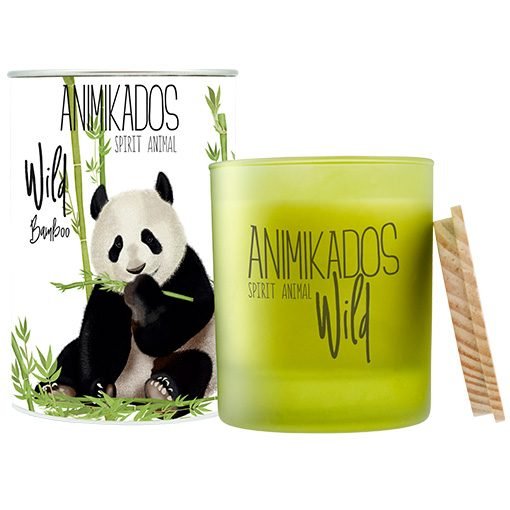 Animikados geurkaars wild bamboo