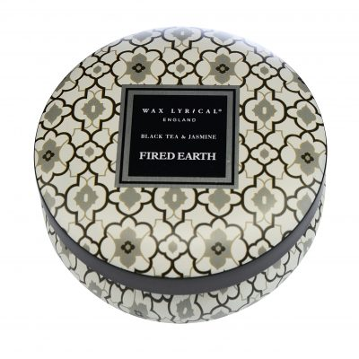 Wax Lyrical geurkaars tin candle black tea & jasmin