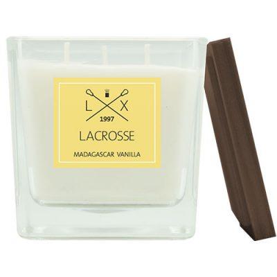 Geurkaars madagascar vanilla van Lacrosse met een brandduur van 60 uur.