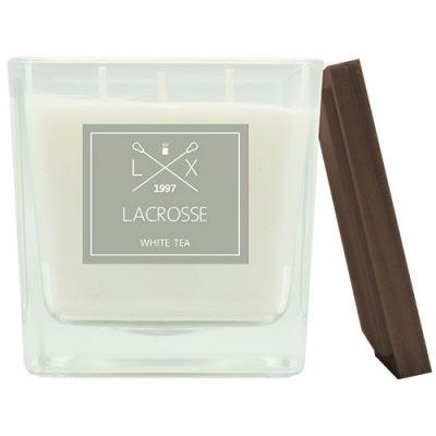 Lacrosse geurkaars white tea 60 branduren