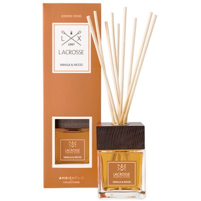 Lacrosse-geurstokjes-100-ml-vanilla-and-wood