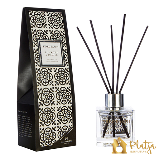 Wax-Lyrical-fired-earth-geurstokjes-black-tea-jasmine-100ml
