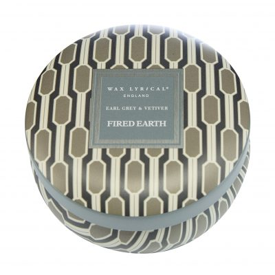 Wax Lyrical geurkaars tin candle earl grey and vetivert