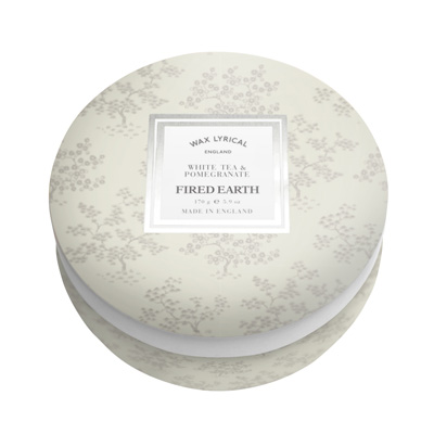 Wax Lyrical geurkaars tin candle white tea & pomegranate